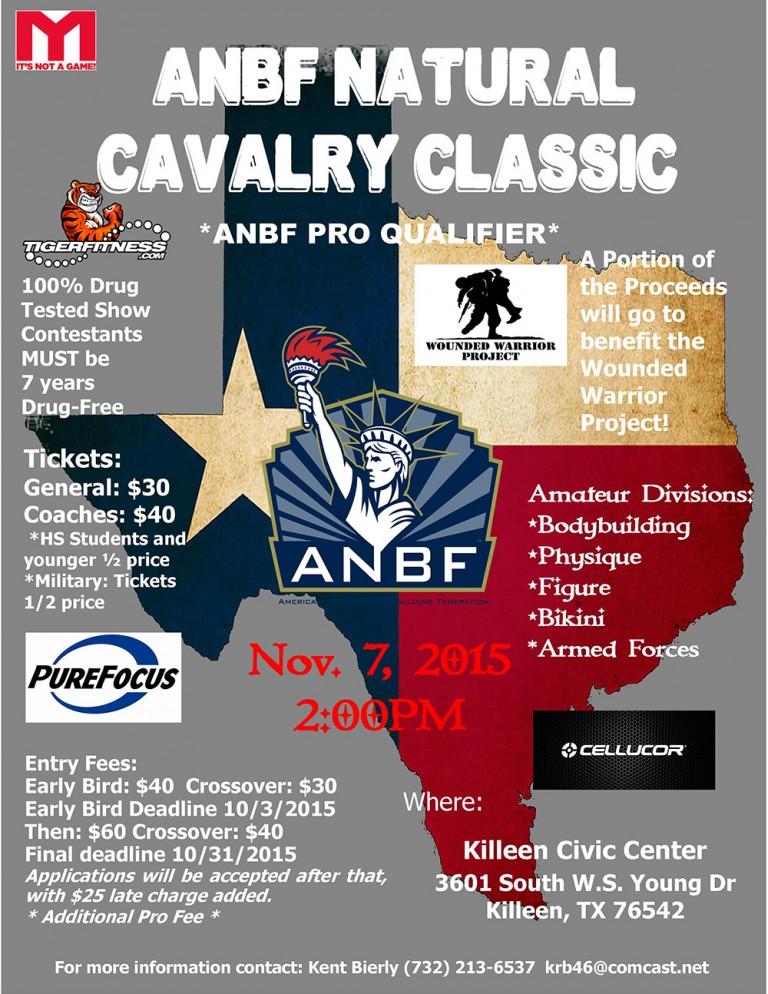 2015 ANBF CAVALRY CLASSIC RESULTS