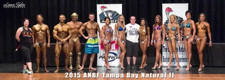 2015 ANBF TAMPA BAY NATURAL PRO/AM II RESULTS