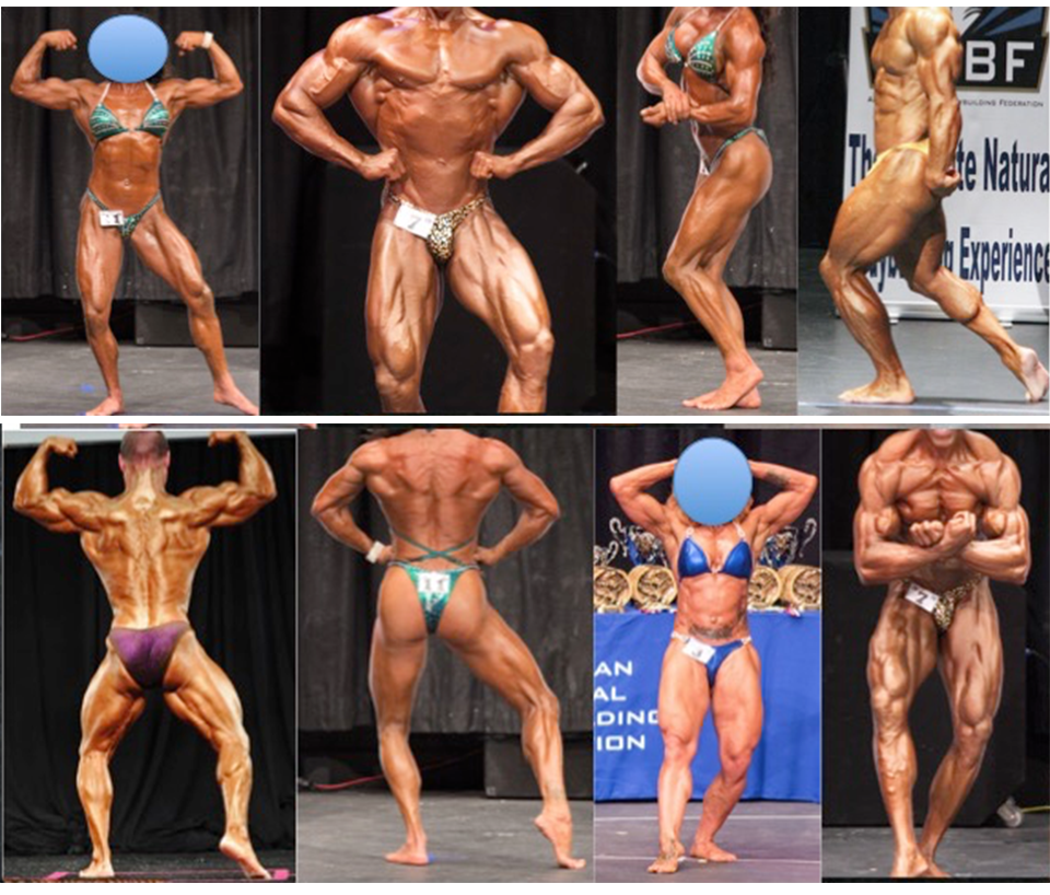 Bodybuilding Desired Poses