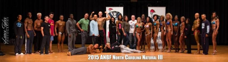 2015 ANBF NORTH CAROLINA NATURAL RESULTS