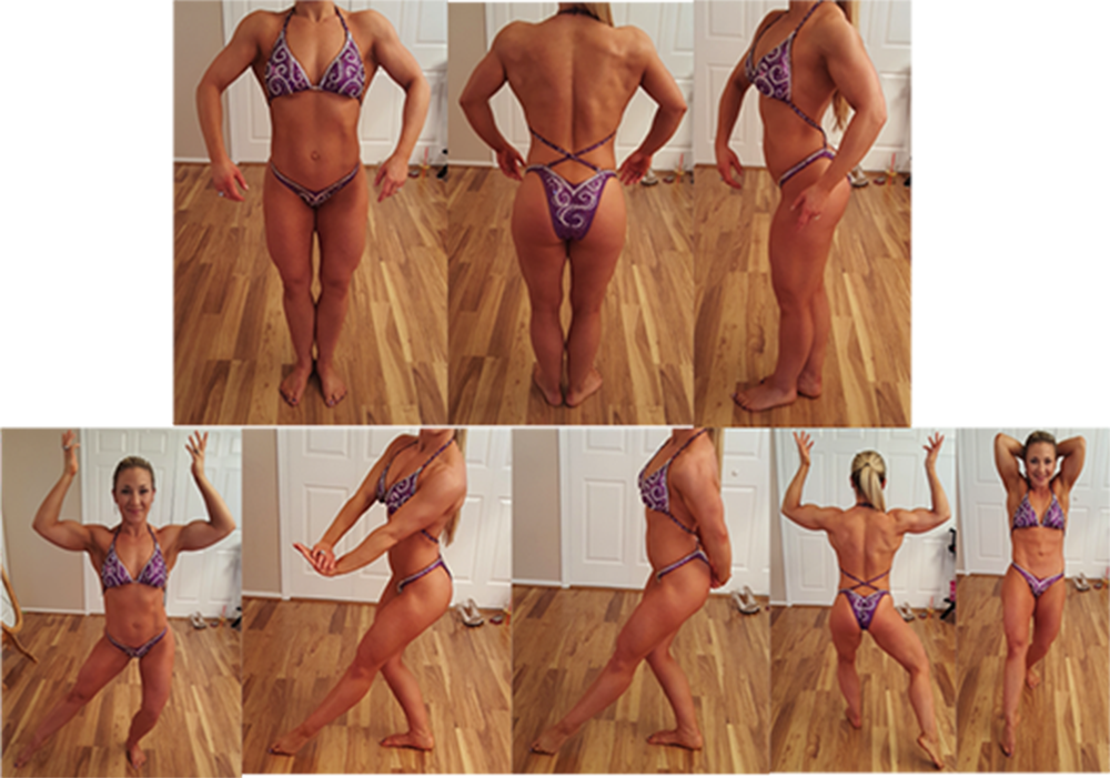 ANBF Desired Women's Physique Posing