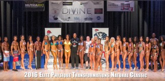 Elite Physique Transformations Natural Classic Group Photo