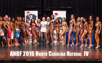2016 North Carolina Natural group photo