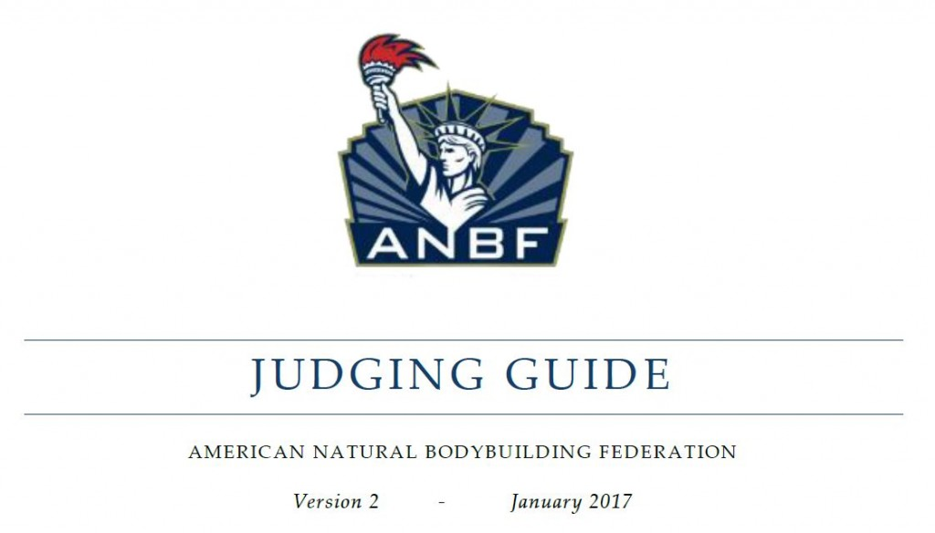 ANBF Judging Guide