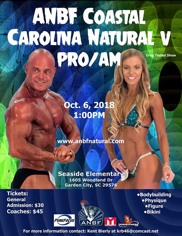 2018 Contest Schedule - American Natural Bodybuilding Federation - ANBF