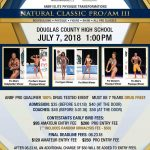 2018 Elite Physique Transformations Flyer