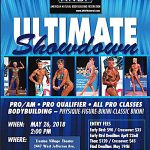 3d Fit Arena Ultimate Showdown Flyer