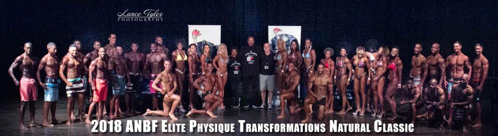 2018 Elite Physique Transformations Group photo