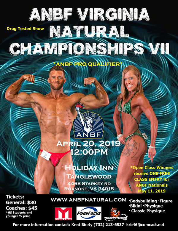 ANBF - American Natural Bodybuilding Federation
