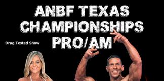 2019 Texas Championships Flyer