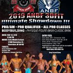 ANBF 2019 Ultimate Showdown Flyer