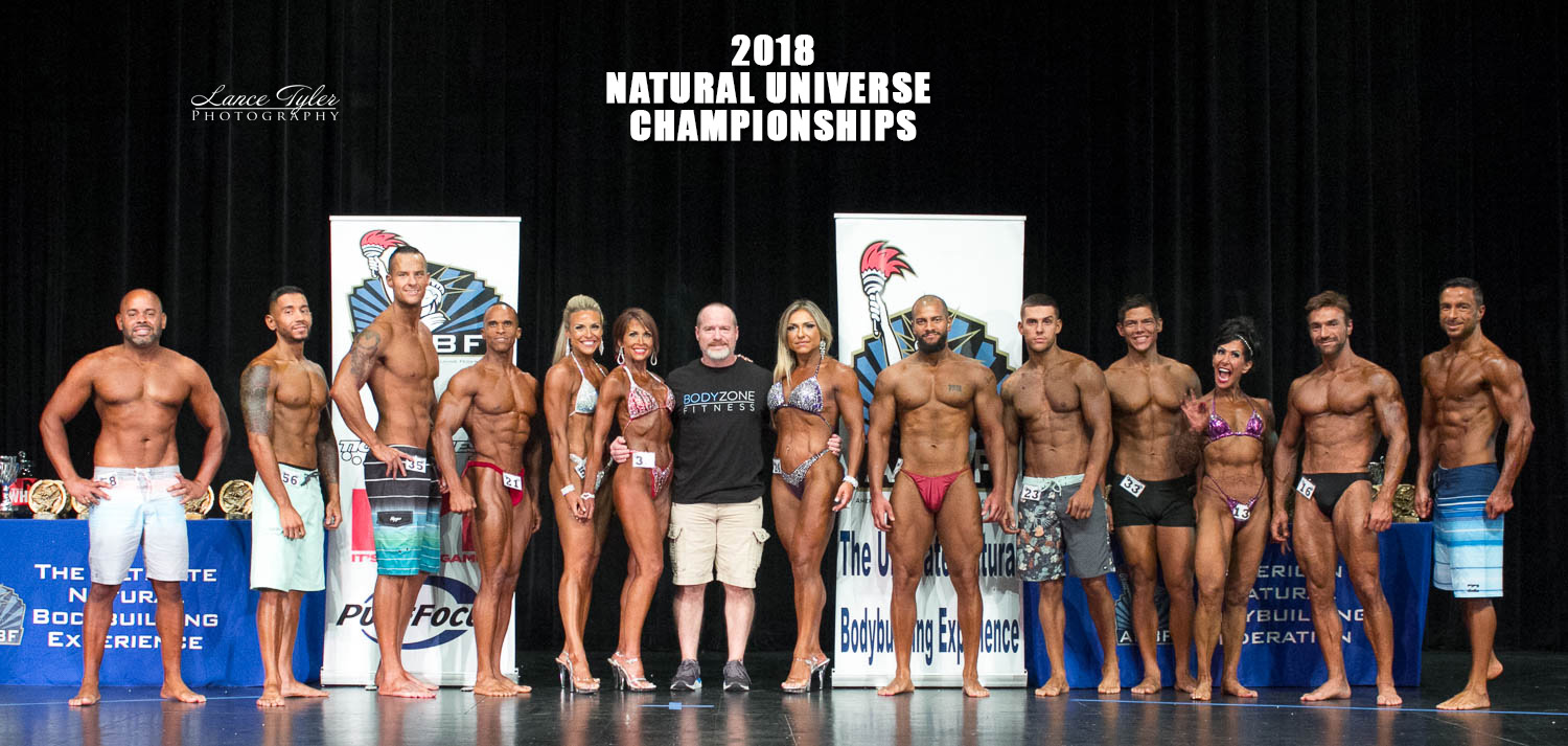 2018 ANBF Natural Universe Championships Group photo