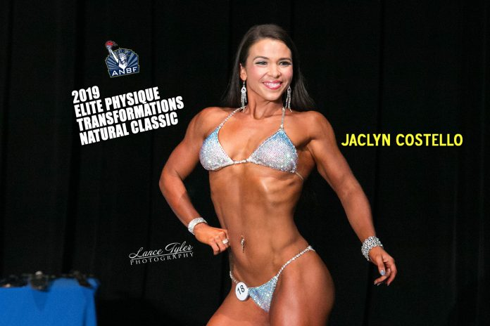 Jaclyn Costello 2019 Elite Physique Transformations Natural Classic Results