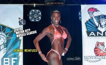 Denise Rehfuss 2019 ANBF Motor City Results