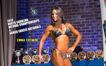 Emma Frowine 2019 ANBF NORTH CAROLINA CHAMPIONSHIP RESULTS