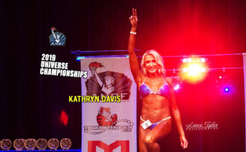 Kathryn Davis 2019 ANBF Natural Universe Championships