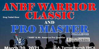 2021 ANBF Warrior Classic Flyer