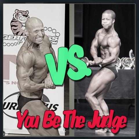 You Be The Judge - Men's Bodybuilding