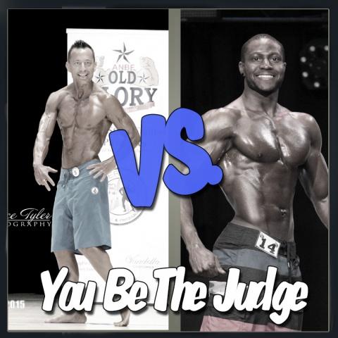 You Be The Judge - Men's Physique